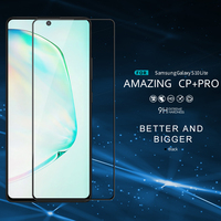 for Samsung Galaxy S10 Lite Glass Screen Protector NILLKIN Amazing CP+ Full Glue Coverage Tempered Glass for Samsung S10 Lite
