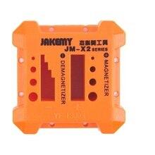 JM-X2 инструмент для размагничивания пористая Отвертка Магнитный инструмент для ремонта мобильных телефонов