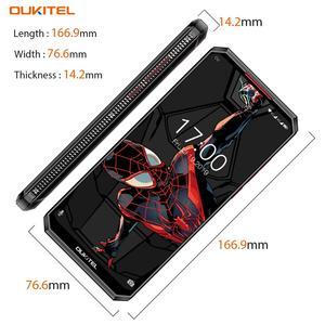 """Image 5 - OUKITEL K13 Pro 6.41 """"19.5:9 Android 9.0 cep telefonu MT6762 4G RAM 64G ROM 5V/6A 11000mAh OTA NFC parmak izi 4G Smartphone"""