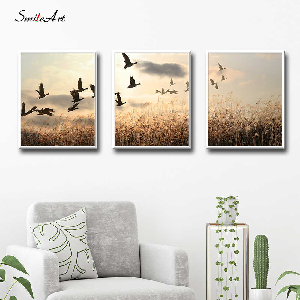 Modern Style Scenery Posters Canvas Art Painting Wall Art Nursery Decorative Picture Nordic Style Kids Deco