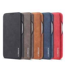 Flip Case For iPhone 12 Pro Max Case Leather Magnetic Cover Apple iPhone 11 8 7 6 6s Plus XS Max XR 12 Mini Luxury PU Phone Bags