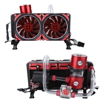 DIY PC Water Cooling Kit Liquid Computer Cooling Set Notebook Water cooled Set 120*120*25mm 50CFM Cooling Fan 600L/H Water Pump