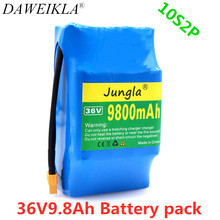 10s2p 36Vrechargeable battery 8800 MAH 8.8Ah single cycle voltage HoverBoard battery