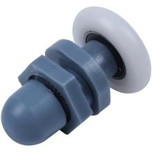 Set of 8 Pieces Replacement Pulley Roller Shower Door Wheel ABS Bathroom door roller Diameter 25mm (1 inch)