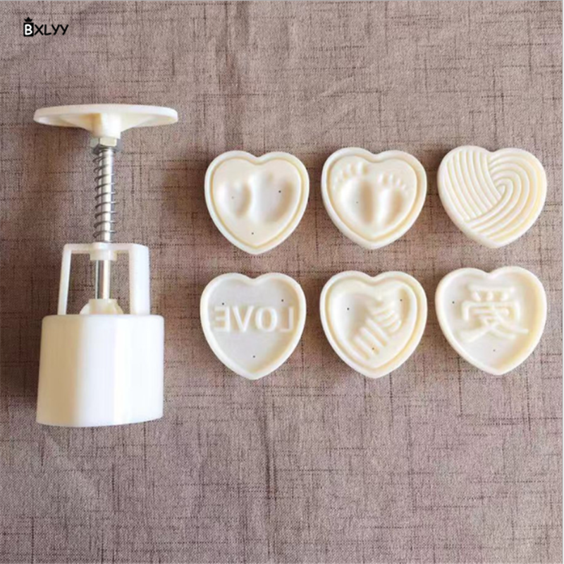 BXLYY Pastry Supplies DIY Snowy Moon Cake Mold Kitchen Accessories Baking Tray Baking Mold Gadgets New Year Christmas Decor.7z
