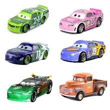Coches de Disney Pixar coches 3 2 Lightnig McQueen Jackson tormenta Cruz Ramírez 1:55 Diecast juguetes de aleación de Metal para los niños