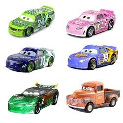 Cars Disney Pixar Cars 3 2 Lightnig McQueen Jackson Storm Cruz Ramirez 1:55 Diecast Metal Alloy Toys For Children
