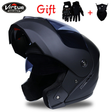 2019 Professional Racing helmet Modular Dual lens Motorcycle Helmet