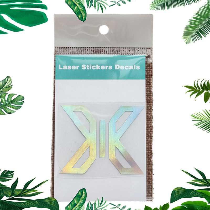 Kpop X1 GOT7 Tujuh Belas Dua Kali EXO DAY6 Cix NCT Astro Ikon Tim Korea Laser Decals untuk Armybomb Lightstick Laptop Sticker dekorasi