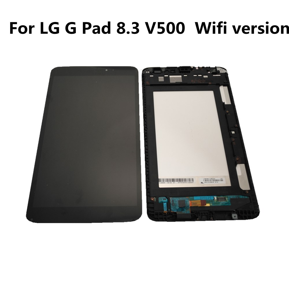 Azqqlbw For <font><b>LG</b></font> G Pad 8.3 <font><b>V500</b></font> Wifi Version LCD Display <font><b>Touch</b></font> <font><b>Screen</b></font> Digitizer Assembly For <font><b>LG</b></font> G Pad <font><b>V500</b></font> Display With Frame image