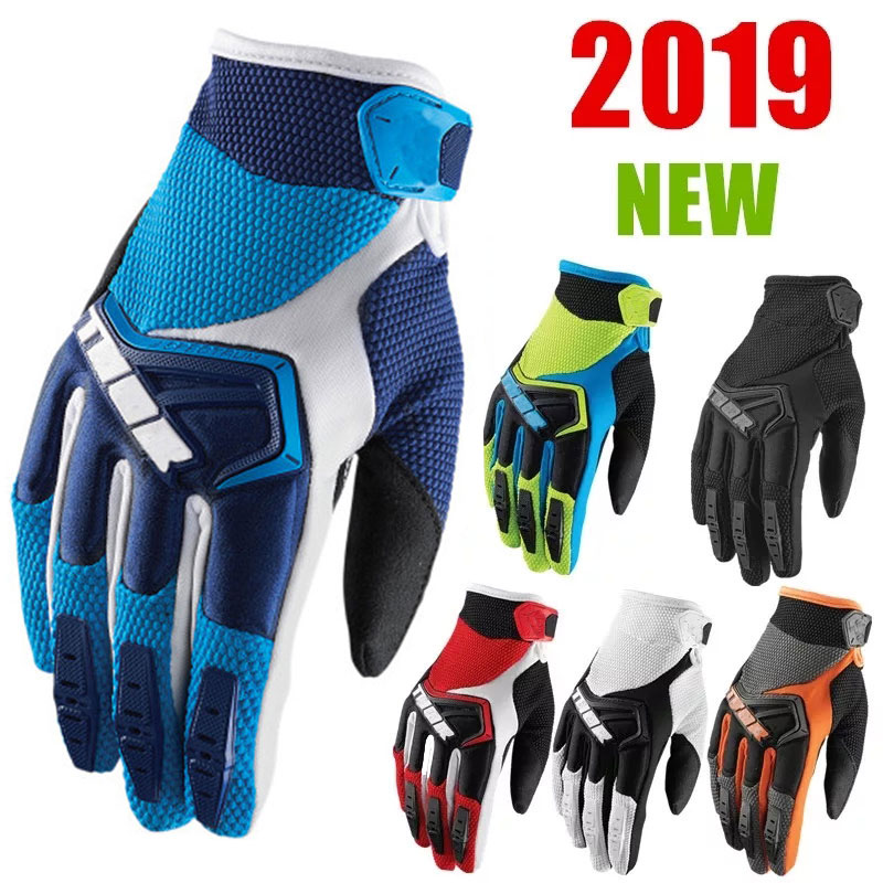 2021 Motorcycle Gloves MTB Bicycle Gloves BMX ATV Road Racing Cycling Gloves Men's Women Sport Breathability Dirt Bike Gloves