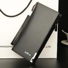Men's Long Purse Multi-functional Zipper Handbag Money Bag Large Capacity PU Wallet Fashion Card Bags wallet men