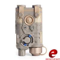 Luz de caza táctico Element Airsoft, linterna LED, láser verde, L3-NGAL, arma táctica, PEQ 15