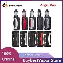 Original Geekvape Aegis Max 100W 21700 Kit with 5ml Zeus Atomizer & Zeus Mesh Coil 100w MAX Output E