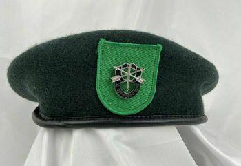 Tomwang2012 Armia usa 9 Siły specjalne grupa zielony beret siły specjalne Motto czapka wojskowa tanie i dobre opinie CINESSD Z wełny