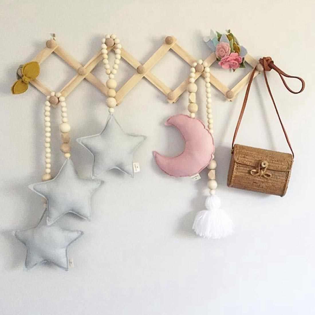 Estrella ornamentos niños habitación colgante decoración de pared habitación cuna tienda decoración fotografía Accesorios