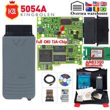 5054A ODIS V5.1.6 keygen كامل أوكي رقاقة V5.0.6 السيارات OBD2 أداة تشخيص 5054 بلوتوث V4.0 OBD2 رمز الماسح الضوئي