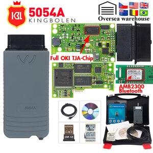 Image 1 - 5054A ODIS V5.1.6 keygen pełny układ OKI V5.0.6 Auto narzędzie diagnostyczne OBD2 5054 Bluetooth V4.0 skaner kodów OBD2