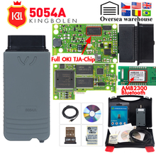 5054a odis v5.1.6 com geração de chave, ferramenta de diagnóstico automotivo completa com chip oki v5.2.6, obd2, bluetooth 5054, v4.0, obd2, scanner de código
