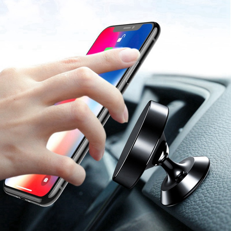 Universal Car Magnetic Phone Holder for iphone 11 X 7 GPS Dashboard Phone Holder Stand Air Vent Grip Mount Bracket Magnet Holder