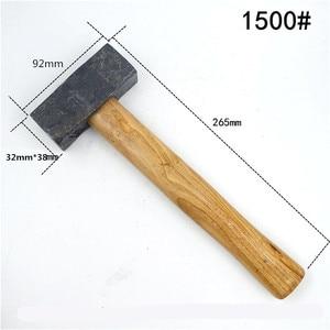 Wooden Handle Hammer Square Ha