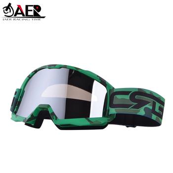 JAER gogle motocyklowe Motocross Gafas Moto kask jazda okulary motocyklowe MX óculos Motocross DH brud okulary motocyklowe tanie i dobre opinie JGAYLAER JAER RACING TIME Mężczyźni Unisex Kobiety MULTI Jeden rozmiar 13 colors as picture shows Frame TPU Lens PC 180*98mm