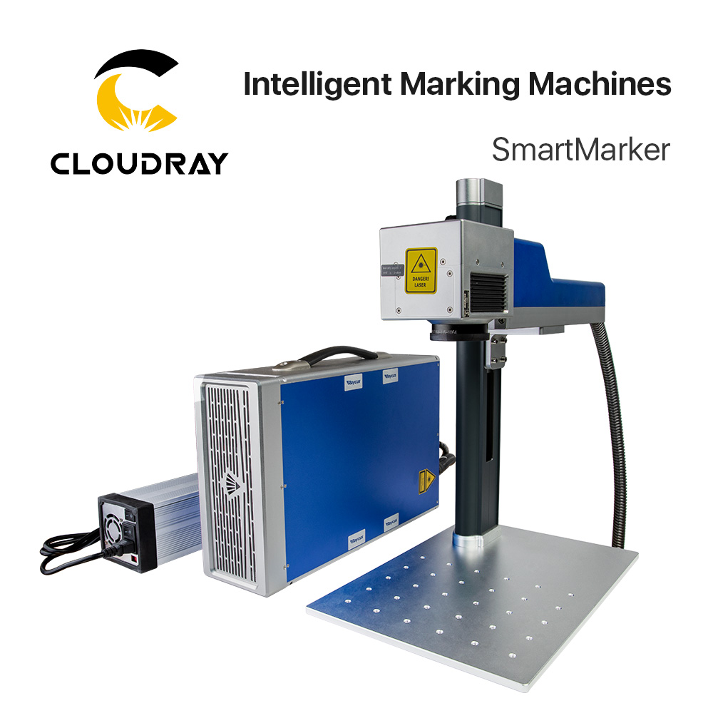 Cloudray 20-30W Fiber Laser Intelligent Marking Machine SmartMarker For Marking Metal Stainless Steel