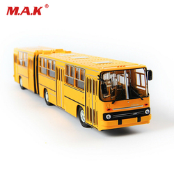 38cm toys for children IKarus-280 Bus Model 1/43 Diecast Alloy EU/Hungary articulated Bus Yellow kids toys