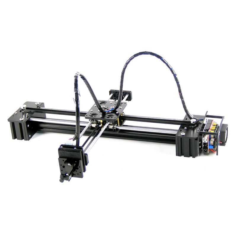 New Diy Slideway Moving 3 Axis Stepper Motor Drawbot Pen Draw Machine Letter Corexy XY-plotter Write CNC V3 Shield Support Laser