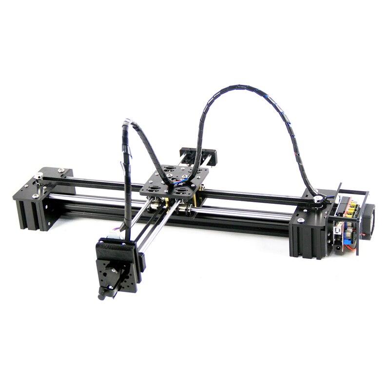 Nowy diy slideway moving 3 osi silnik krokowy drawbot pen draw maszyna list corexy xy-ploter napisać CNC V3 tarcza wsparcie laser