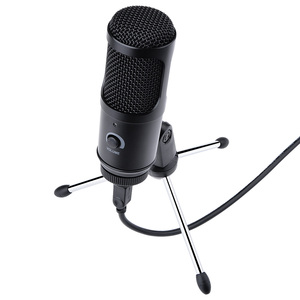 Recording USB Condenser Microphone Professional Studio Microphones For PC Computer Laptop Voice Podcasting For Youtobe Mic Stand