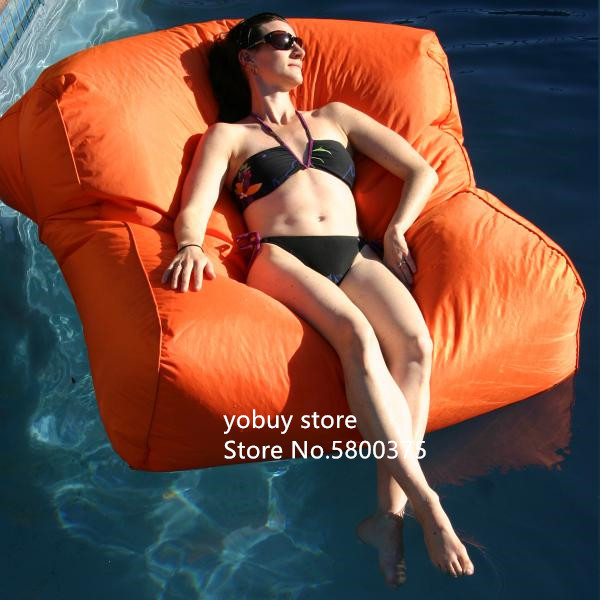 Large Size Water Floating Bean Bag Chair Made Of 420D Oxford-PVC Material 13