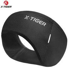 X-TIGER kış açık bisiklet şapkalar spor ter bandı rüzgar geçirmez bisiklet kafa bandı sıcak tutmak polar bisiklet ekipmanları kulak isıtıcı