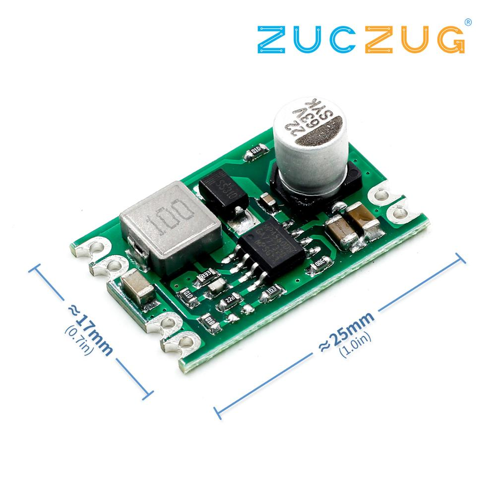 DC DC Step Down Power Supply Module Buck Geregelte Bord 2A Eingang 8-55V Ausgang 3,3 V/ 5 V/9 V/12 V A04 Elektronische DIY PCB