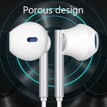 KISSCASE przewodowe słuchawki do Xiaomi 6D Stereo Surround Gaming słuchawki douszne słuchawki z mikrofonem słuchawki sportowe słuchawki