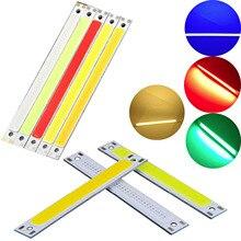 Светодиодный синий, красный, зеленый, холодный, теплый, белый, 12 В, 14 в, COB, светодиодный светильник, 10 Вт, лампа, источник освещения для DIY, светодиодный прожектор, декор YZ