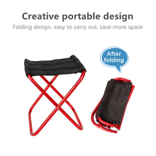 High-quality Outdoor Foldable Fishing Chair Light Weight Portable Folding Camping Aluminum Alloy Picnic Fishing Chair With Bag