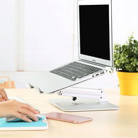 Notebook Stand for Macbook Air 13 Pro 15 Aluminum Alloy Adjustable Laptop Desktop Holder for HP LENOVO DELL HUAWEI Sony iPad Pro