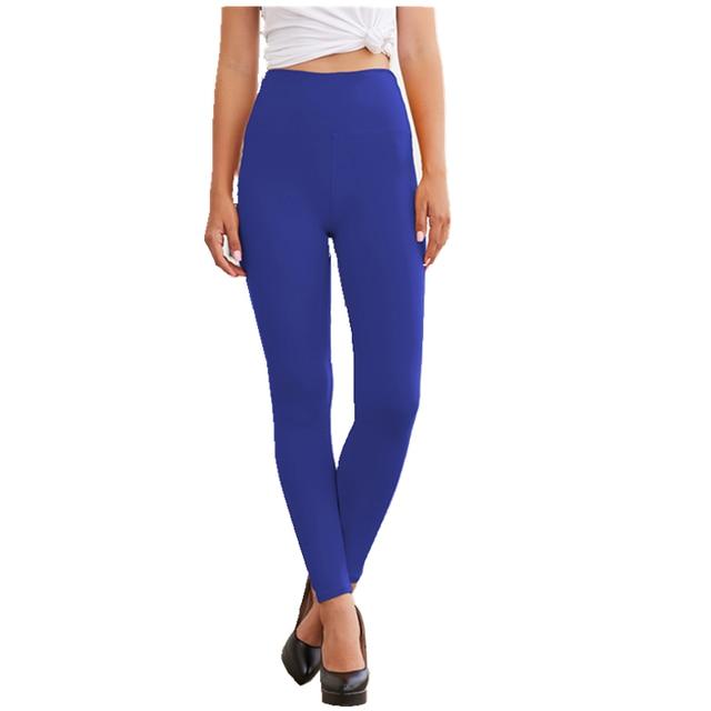Seamless Solid Color Leggings 6