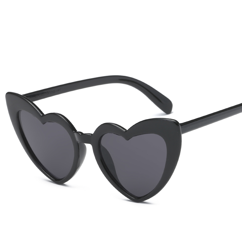 Heart Shaped Sunglasses Women Designer Trends Product Retro Vintage Glasses Adult Eyeglasses