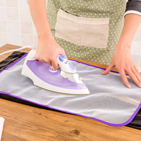 1\/2pcs High Temperature Resistance Ironing Scorch Heat Insulation Pad Mat Household Protective Mesh Cloth Cover in 2 Sizes Hot