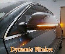 KIBOWEAR Dinamica Lampeggiante Luce Dello Specchio per Audi A3 8P A4 A5 B8 Q3 A6 C6 4F S6 di Direzione A LED segnale Indicatori di Direzione Laterali S4 S5 S6 A8 D3 8K S8