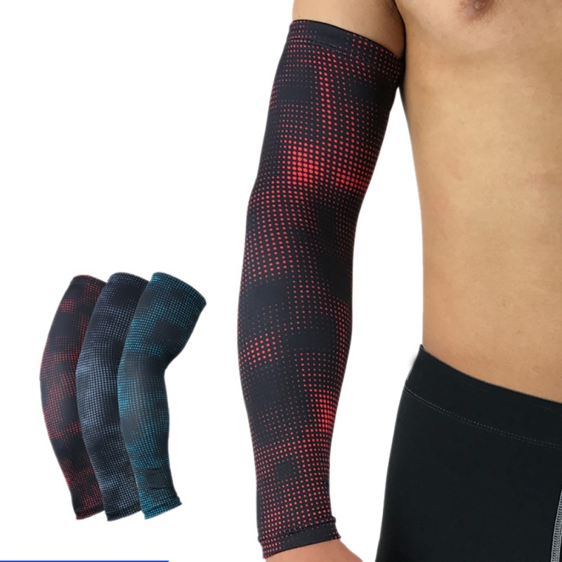 1 Pcs Men Bike Sport Arm Warmers Sleeves Cycling Running Bicycle UV Sun Protection Cuff Cover Protective Arm Sleeve