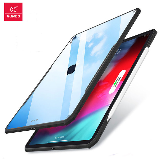 For iPad Pro 12.9 Case XUNDD Protective Tablet Case with airbags Shockproof Cases Charge for iPad Pro 11 Case 2018 With Pencil