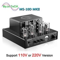 Nobsound MS-10D MKII MS-10D MKIII Tubo Amplificatore Vuoto amplificador amplificatore Bluetooth USB 110V o 220V MS 10D amplificador