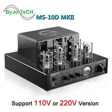 Nobsound ms 10D管パワーアンプハイファイホームステレオオーディオ真空amplificador bluetooth光学式同軸usb cd dvd amp低音