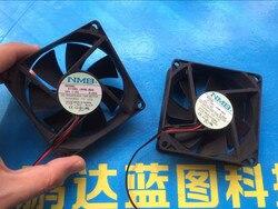 NMB 8 cm 8025 12 v 0.3 A 3110 kl 04 w B50 57 podwozie wentylator chłodzący piłka|Wentylatory i chłodzenie|Komputer i biuro -