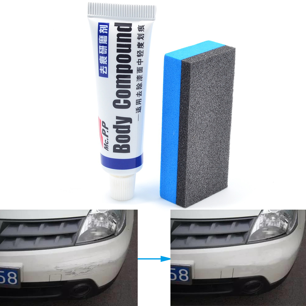 Car Wax Styling Car Body Grinding Compound MC308 Paste Set Scratch Paint Care Shampoo Auto Polishing Car Paste Polish Cleaning 2