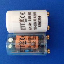 10 шт./партия Высокое качество Electonice стартер для 4-230 Вт 200-250VAC фара, предохранитель электронный стартер прозрачный предохранитель стартер