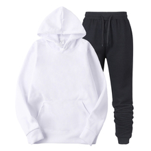 2019 tracksuit Solid color men Latest Hoodies Back To The Future Design Hooded Sweatshirt Black/White Plus Size Hoodies Hip Hop